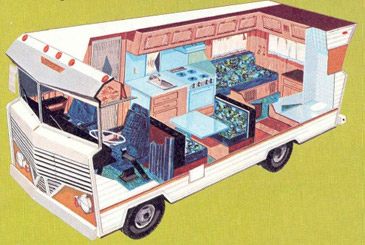 Classic 1969 Dodge Winnebago D-18 For Sale - Rolling Heads